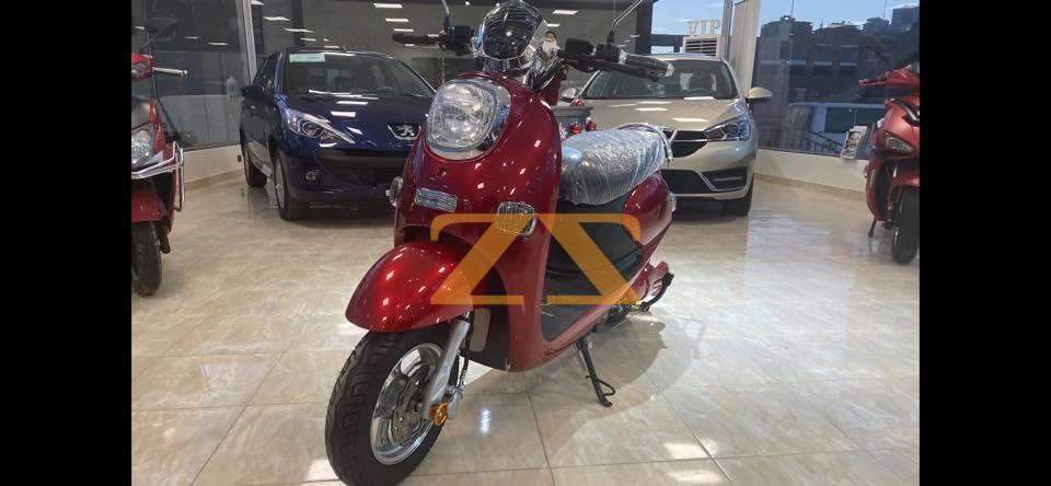 للبيع في دمشق موتور فيسبا الكهربائي
