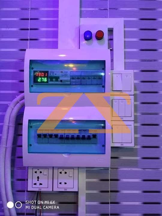 صيانة وتمديد شبكات كهربائية