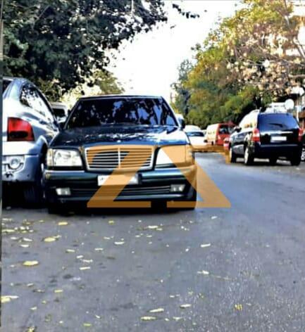سيارة مرسيدس شبح للإيجار في دمشق