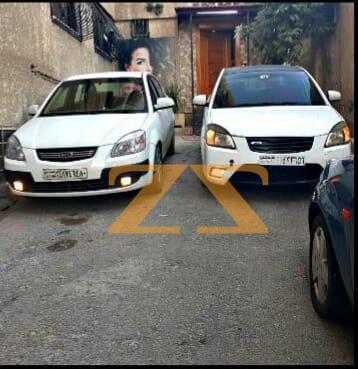 سيارة كيا ريو للإيجار في دمشق