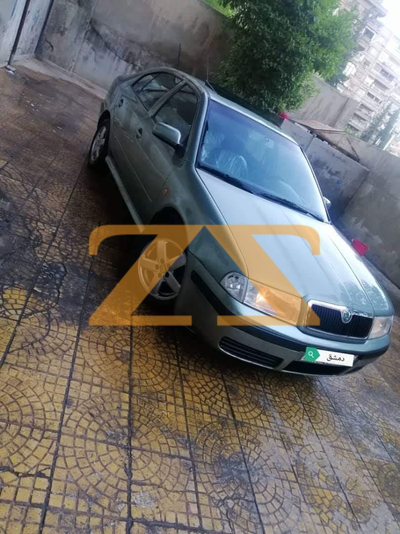 سيارة سكودا اوكتافيا للبيع دمشق