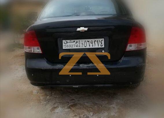 سيارة شفرليه أيفيو 2006 Auto للإيجار في دمشق