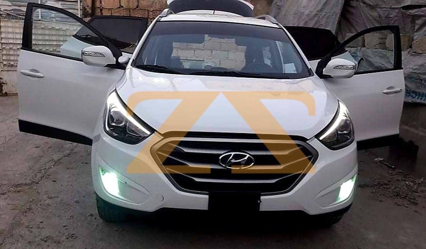 للبيع في دمشق سيارة هيونداي توسان