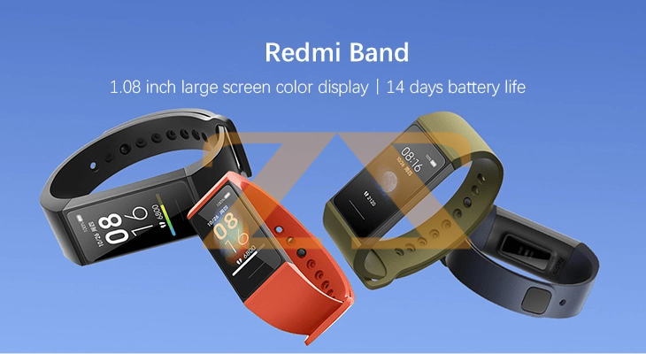 سوار ذكي للياقة البدنية Redmi Smart Band