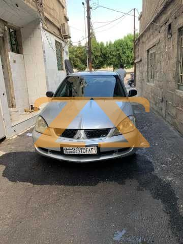 للبيع في دمشق سيارة ميتسوبيشي لانسر