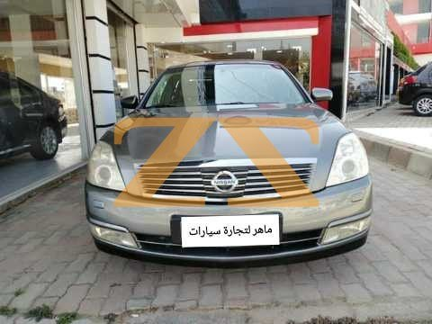 للبيع في دمشق سيارة نيسان تيانا