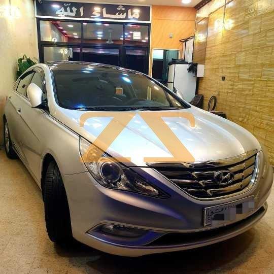 للبيع في دمشق سيارة هيونداي سوناتا