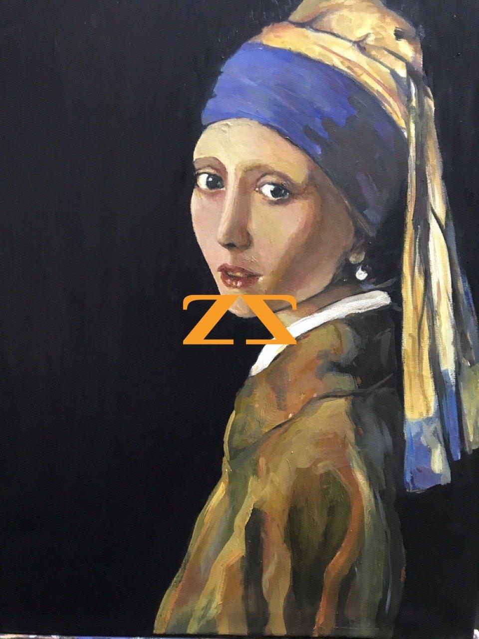 لوحة the girl with the pearl earring