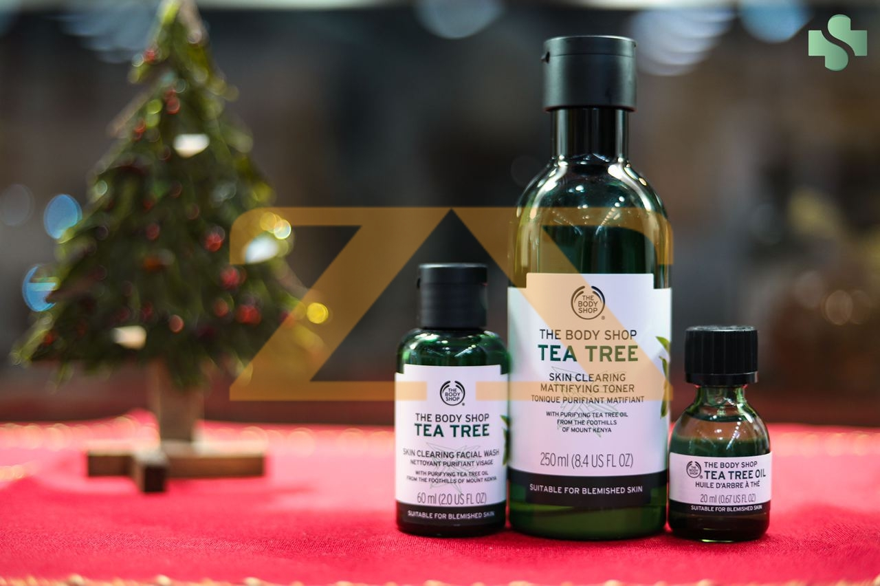 tea tree family from the body shop