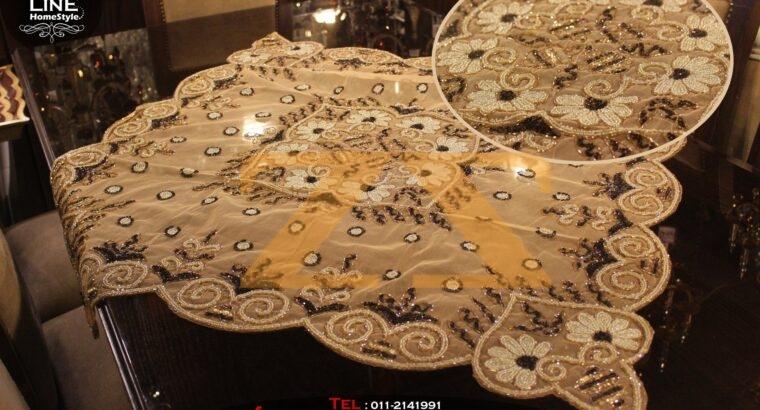 شراشف طاولة السفرة