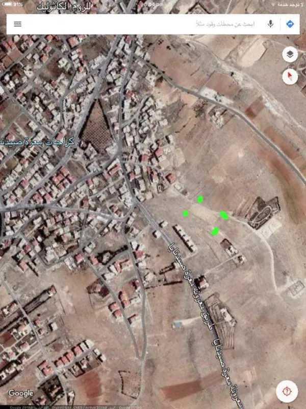 قطعة ارض زراعية للبيع في ريف دمشق معرة صيدنايا