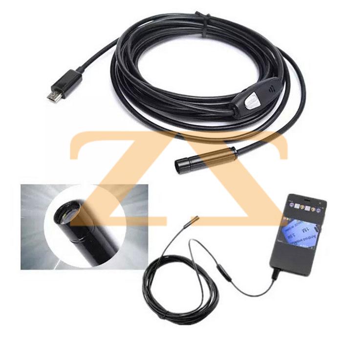 كاميرا مراقبة صغيرة الحجم 5m USB ENDOSCOPE CAMERA