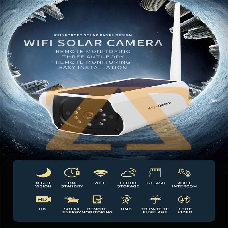 كاميرا تشحن على الطاقة الشمسية YN60 solar camera