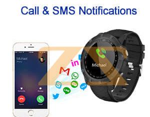 الساعة الذكية smart watche h6