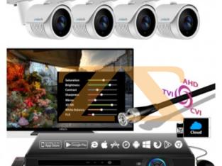مجموعة كاميرات مراقبة 5804 AHD DVR KIT 4K 4CH