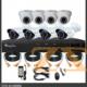 مجموعة كاميرات مراقبة عدد 8 AH4008D DVR KIT 8CH