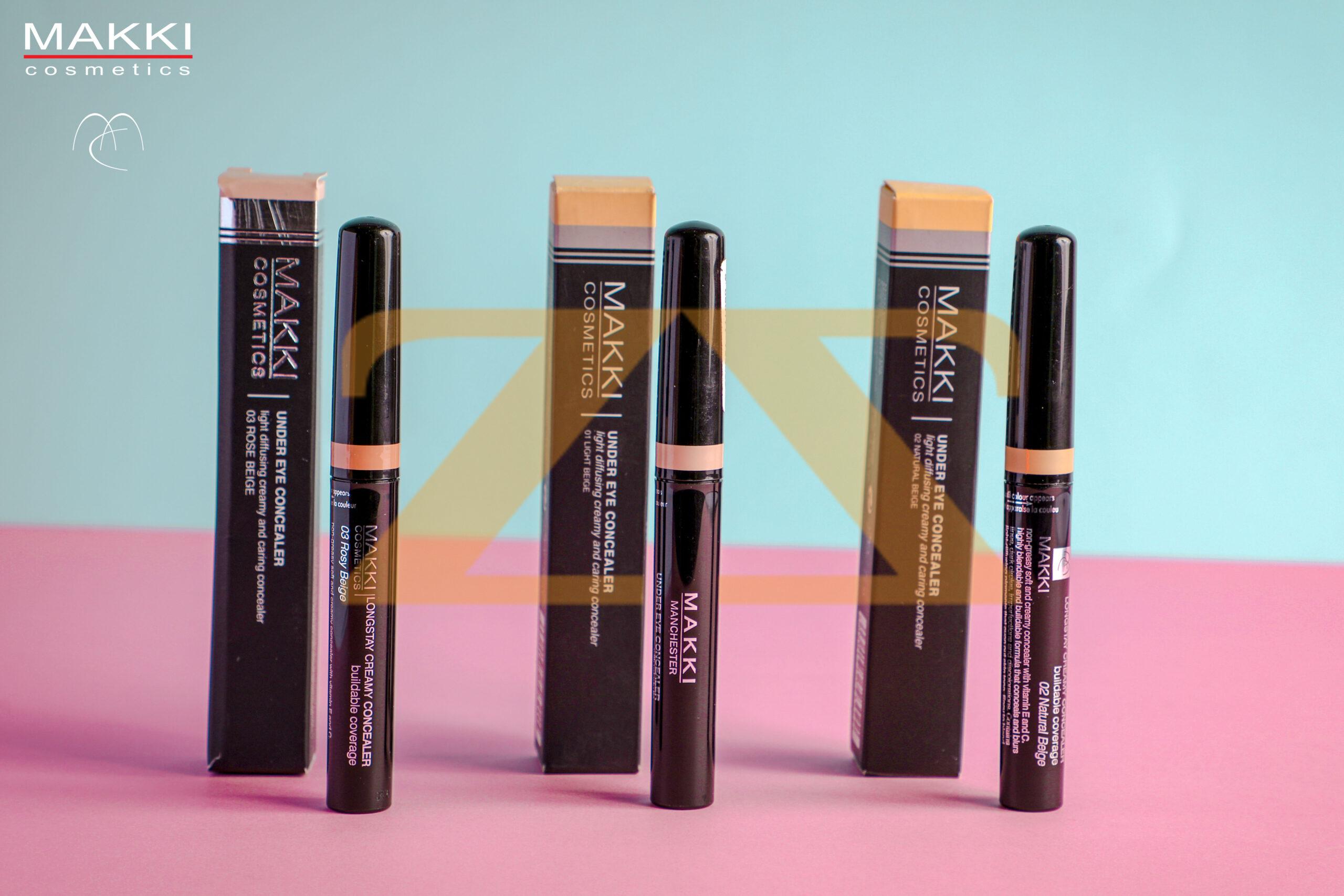 Longlasting creamy concealer من Makki Cosmetics
