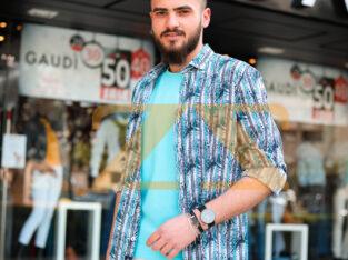 قميص و بنطال و كنزة و حذاء من Gaudi