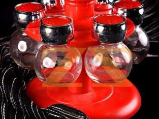 طقم مباهر زجاج حجم صغير