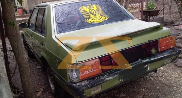 للبيع ميتسوبيشي لانسر 83 في ريف حمص الغربي