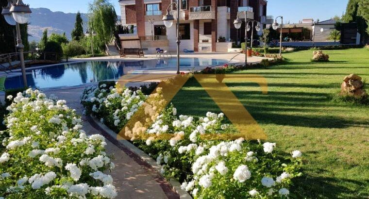 مزرعة وقصر البني للايجاراليومي في كروم مضايا