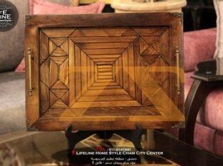 صواني من الخشب
