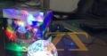 ديسكو اضاءة دائرية