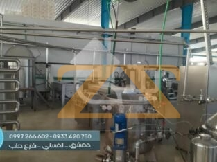 للبيع معمل في ريف دمشق عدرا الصناعية
